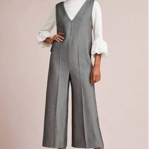 Anthropologie Cartonnier Oxford Jumpsuit